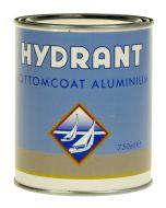 hydrant bottomcoat aluminium 0,75 ltr