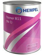 hempel thinner 811 (no. 1) 08111 0,75 ltr