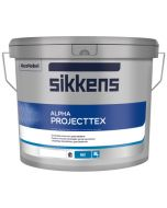 Sikkens Alpha Projecttex (wit) 10 ltr