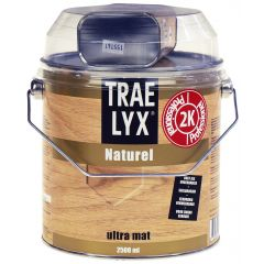 trae lyx naturel 2,5 ltr