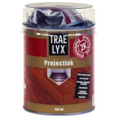 trae lyx projectlak 0,75 ltr