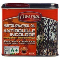 Owatrol Rustol Olie Puur 0,5 ltr