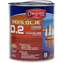 Owatrol Deks Olje D2 olie 2,5 ltr