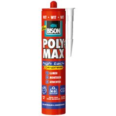 Bison Poly Max High Tack express wit 425 gram