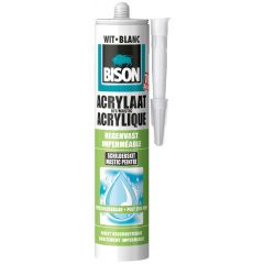 Bison Acrylaatkit Regenvast wit 310 ml
