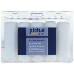 Pictus Schuimrollen 11 cm ronde kanten 10 stuks