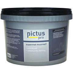 Pictus pro Supermat muurverf 10 ltr