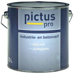 Pictus Pro Industrie- en Betonverf 2,5 ltr
