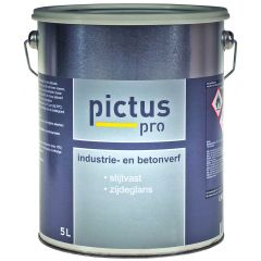Pictus Pro Industrie- en betonverf 5 ltr