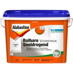 Alabastine rolbare voorstrijk sneldrogend 5 ltr