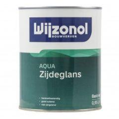 wijzonol aqua zijdeglans 1 ltr