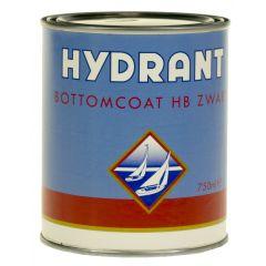 hydrant bottomcoat hb zwart 0,75 ltr