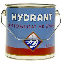 hydrant bottomcoat hb zwart 2,5 ltr