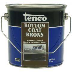 tenco bottomcoat brons 2,5 ltr