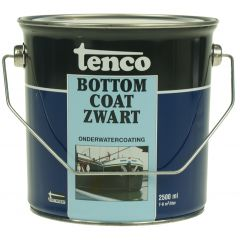 tenco bottomcoat zwart 2,5 ltr