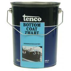 tenco bottomcoat zwart 5 ltr