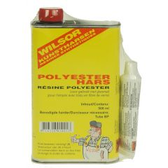 wilsor polyesterhars 0,5 ltr