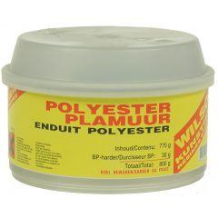 wilsor polyesterplamuur 0,8 kg