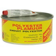 wilsor polyesterplamuur 2 kg
