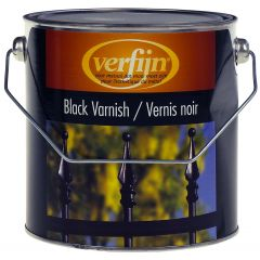 Verfijn Black Varnish 2,5 ltr