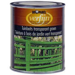 Verfijn Tuinbeits Transparant Groen 0,75 ltr