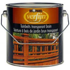 Verfijn Tuinbeits Transparant Bruin 2,5 ltr