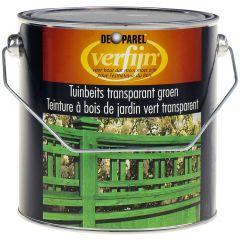 Verfijn Tuinbeits Transparant Groen 2,5 ltr