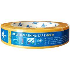Deltec Masking Tape Gold 25 mm 50 mtr