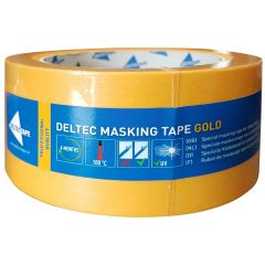 Deltec Masking Tape Gold 50 mm 50 mtr