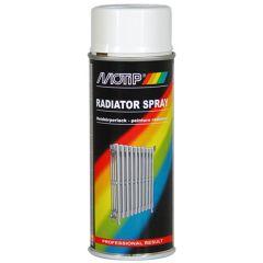 Motip Radiatorspray (RAL 9010) 0,4 ltr