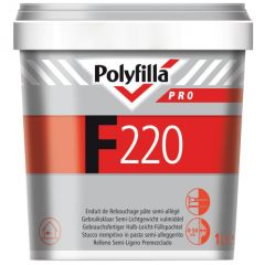 polyfilla pro F220 vulmiddel 1 ltr