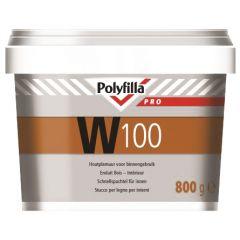 Polyfilla Pro W100 watergedragen plamuur (pot) 800 gr