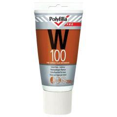 Polyfilla Pro W100 watergedragen plamuur (tube) 250 gr