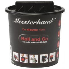 Meesterhand Roll and Go emmer incl. deksel 1,25 ltr