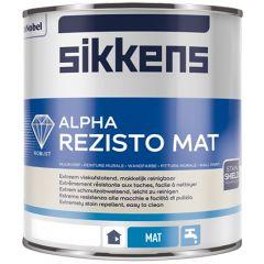 Sikkens Alpha Rezisto Mat (wit) 1 ltr