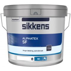 Sikkens Alphatex SF (wit) 5 ltr