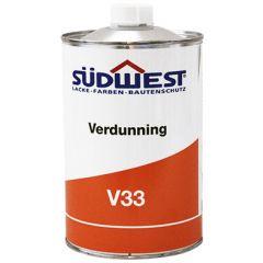 Südwest Nitro- en Universeel Verdunning V33 1 ltr