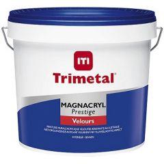 Trimetal Magnacryl Prestige Velours (wit en lichte kleur) 5 ltr