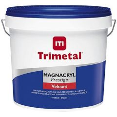 Trimetal Magnacryl Prestige Velours (wit en lichte kleur) 10 ltr