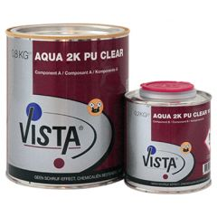 Vista Aqua 2K PU Clear (zijdeglans) set 1 kg