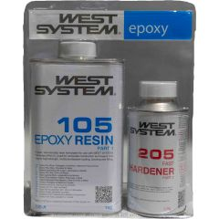 West Systems epoxyhars set fast 1,2 liter